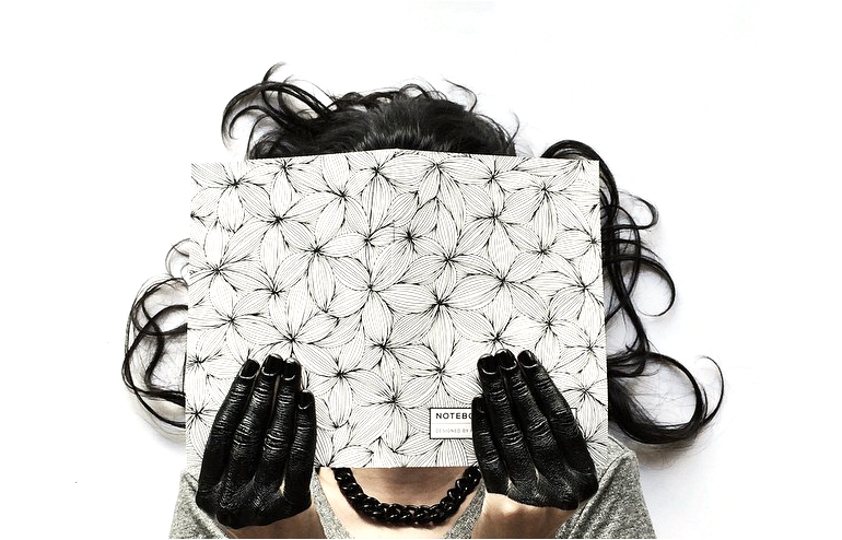 Pudish | Avital Pudinsky | Black Pen. White Format. Endless Doodles