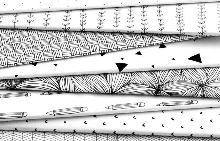 Oh-so-crazy-good doodles turned into notebooks by Pudish // via: Design Break