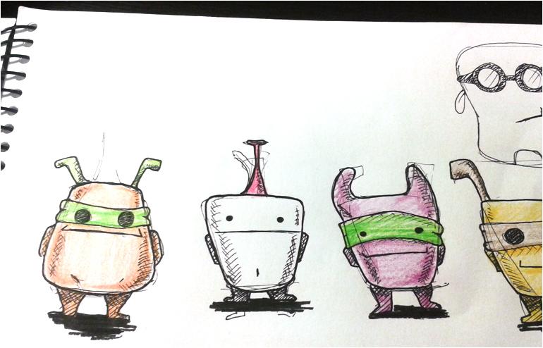 Shmulik Doron's ceramic creatures // via: Design Break