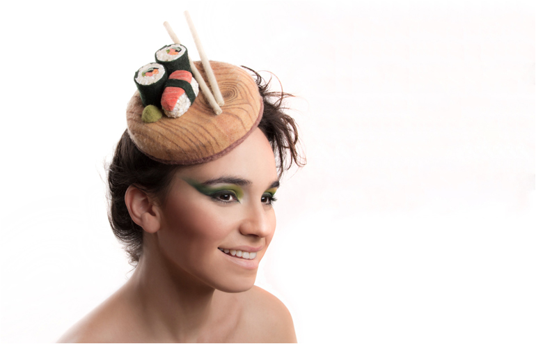 Maor Zabar's unique, colorful and humorous hat design. // via: Design break