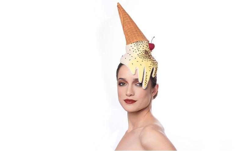 Maor Zabar's unique, colorful and humorous hat design. // via: Design break
