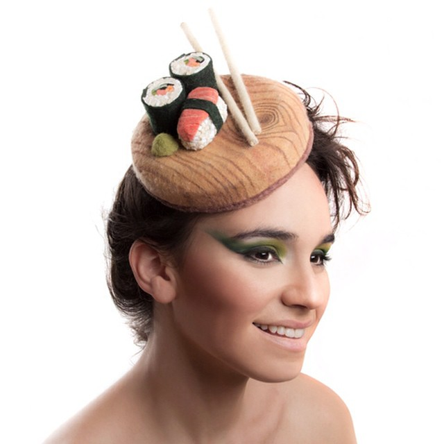 #mydailydesignbreak: I'm not sure if it's the foodie in me or the fact that everyone around me are so into Halloween, the minute I stumbled upon @maorzabar's foodie-licious hats, I knew you needed to know about them and HIM. // Today on designbreakonline.com