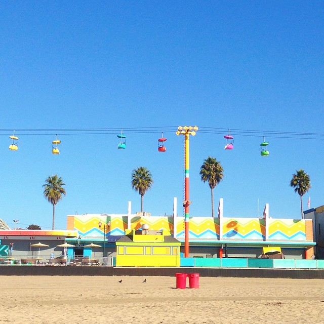 Santa Cruz, you sure look fine, especially when the sun is smiling. // #ColorMePretty #SantaCruz