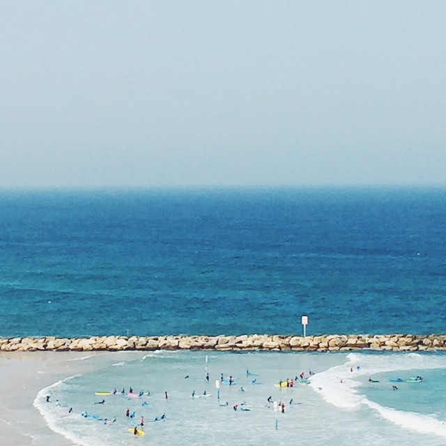 Happy Independence Day, my sweet and super sunny Israel. Here's to peaceful days, sunny skies and lots of beach moments. // #MyTelAvivianBreak