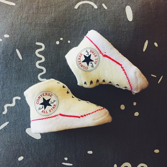 Itsy bitsy @converse, I didn't know you even exist. Thanks for the cutest present ever, little brother. // cc: @hkayless // #MyMiniMeBreak
