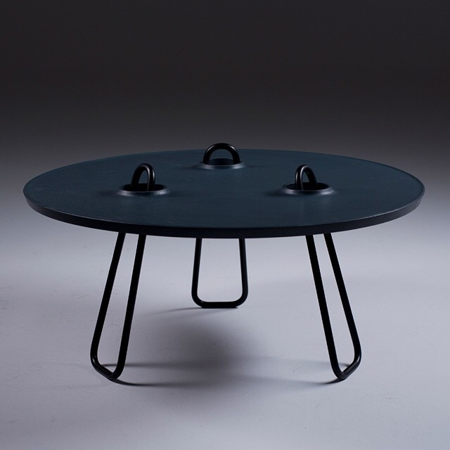 "#mydailydesignbreak: Inspired by the traditional Moroccan coffee table (did I mention that I'm half Moroccan?!), the Producks dudes (aka Yoav Avinoam and Gil Sheffi) decided to put the legs center stage. Oh and there is more. It goes by the name Kahawa. Yep, it means ""coffee"". In Arabic. And it happens to be my favorite word. // Today on designbreakonline.com"