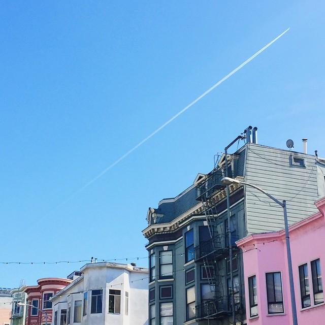 United colors of San Francisco. // #MySanFranciscoBreak #BuildingsOfSanFranciscoBreak