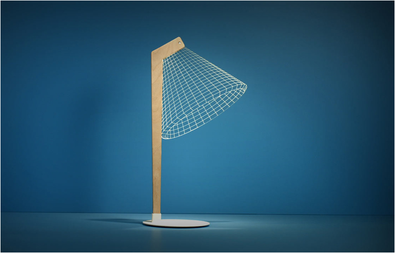 Studio Cheha | Nir Chehanowski | A Syfy Kind Of Lamp