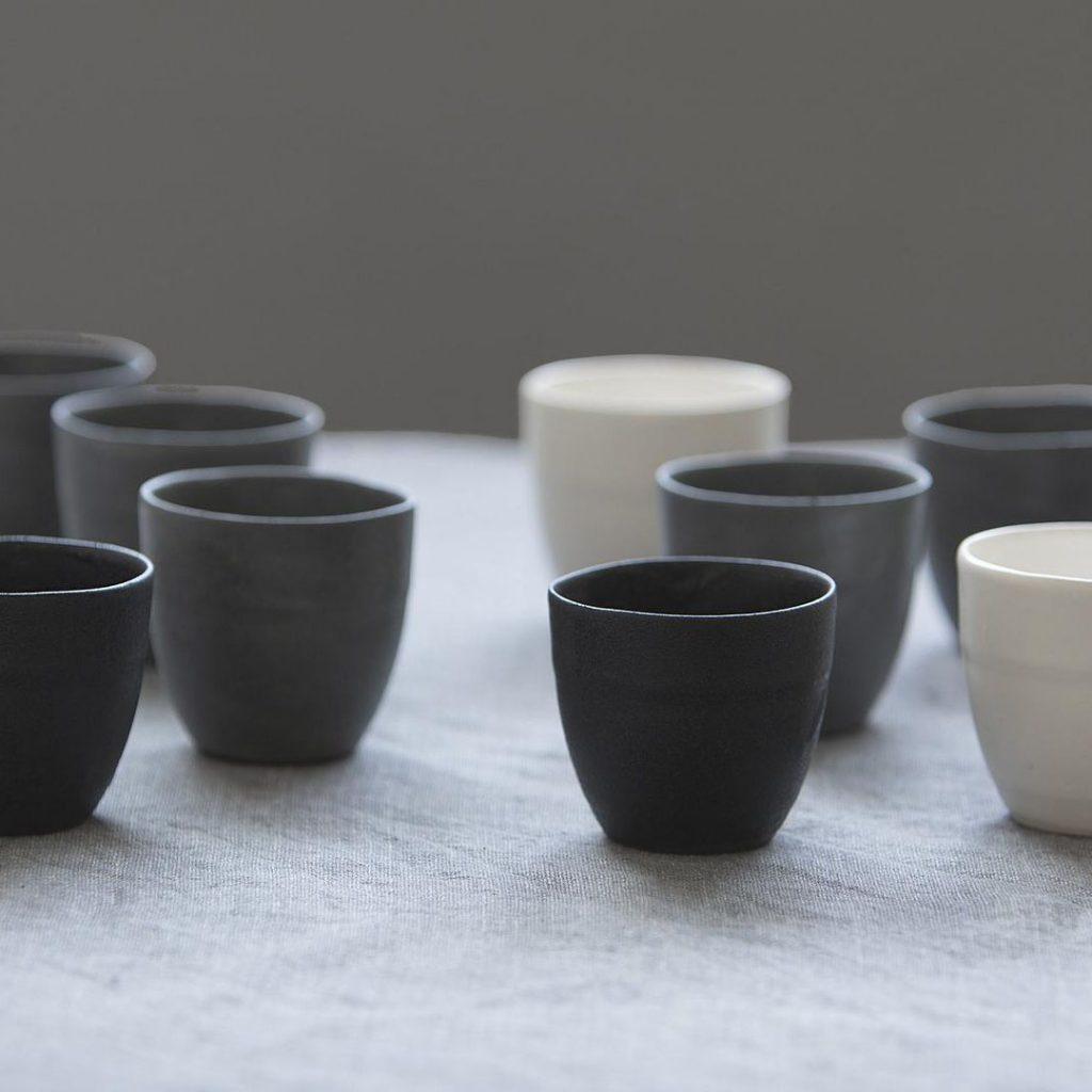 1220 Ceramics Studio 4 round espresso cups