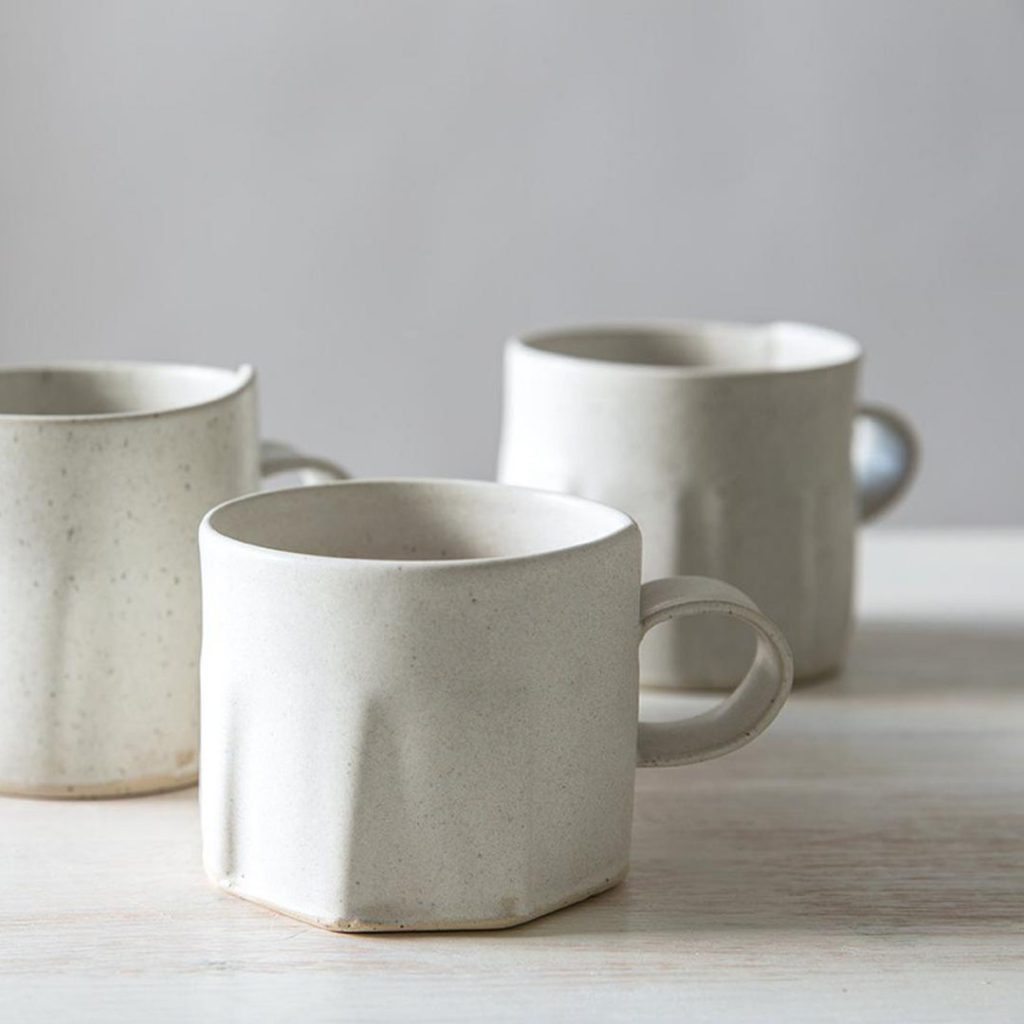 Free Folding ceramic tea cup