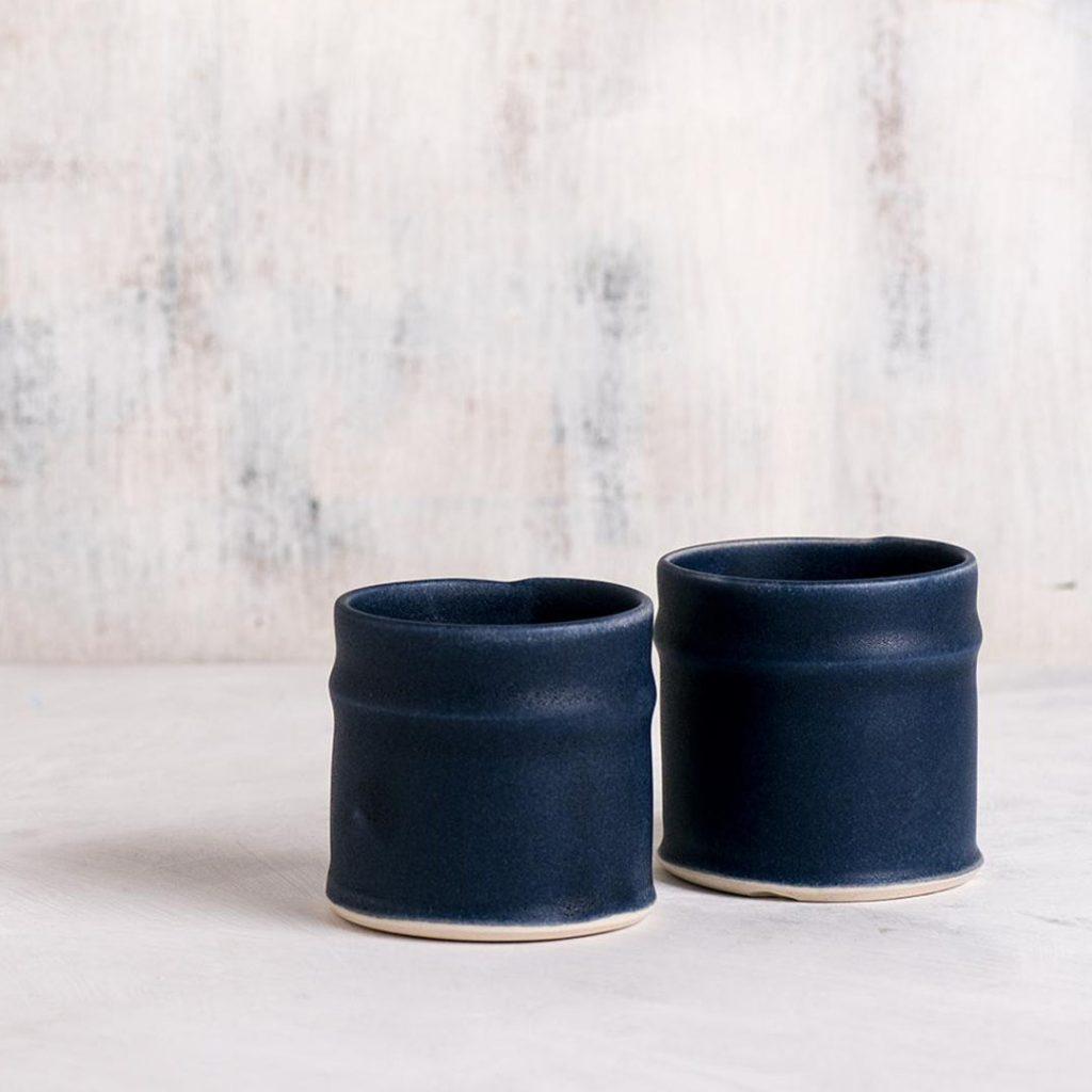 Free Folding 2 black espresso tumblers