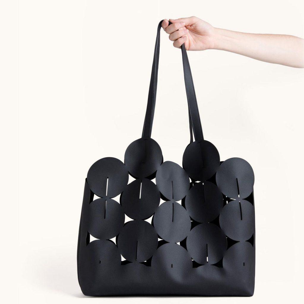 Lee Coren vegan leather shoulder bag