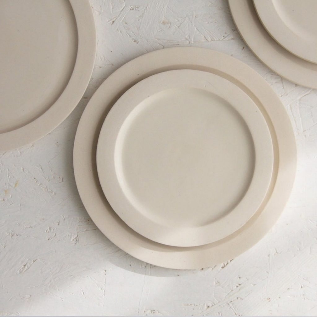 One and Many serving plate