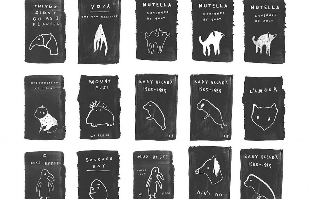 the home of the misplaced and forgotten creatures. illustrated pins by noa goffer // via: design break blog