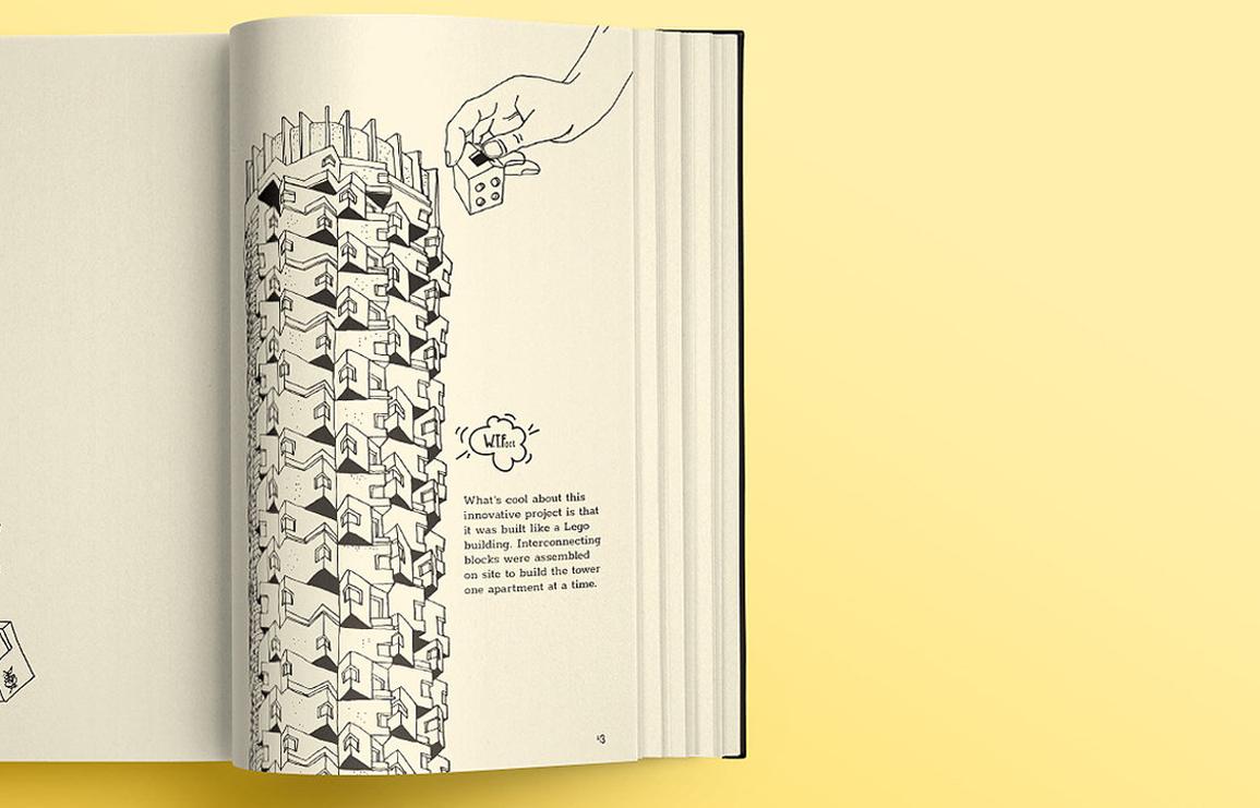 tel aviv. stories of a city. a tel avivian illustrated city guide // via: design break blog