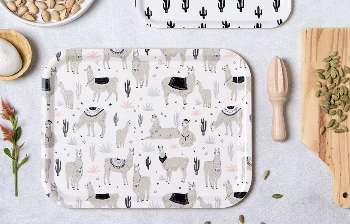 illustrated cutting boards by micush aka michal marko // via: design break blog