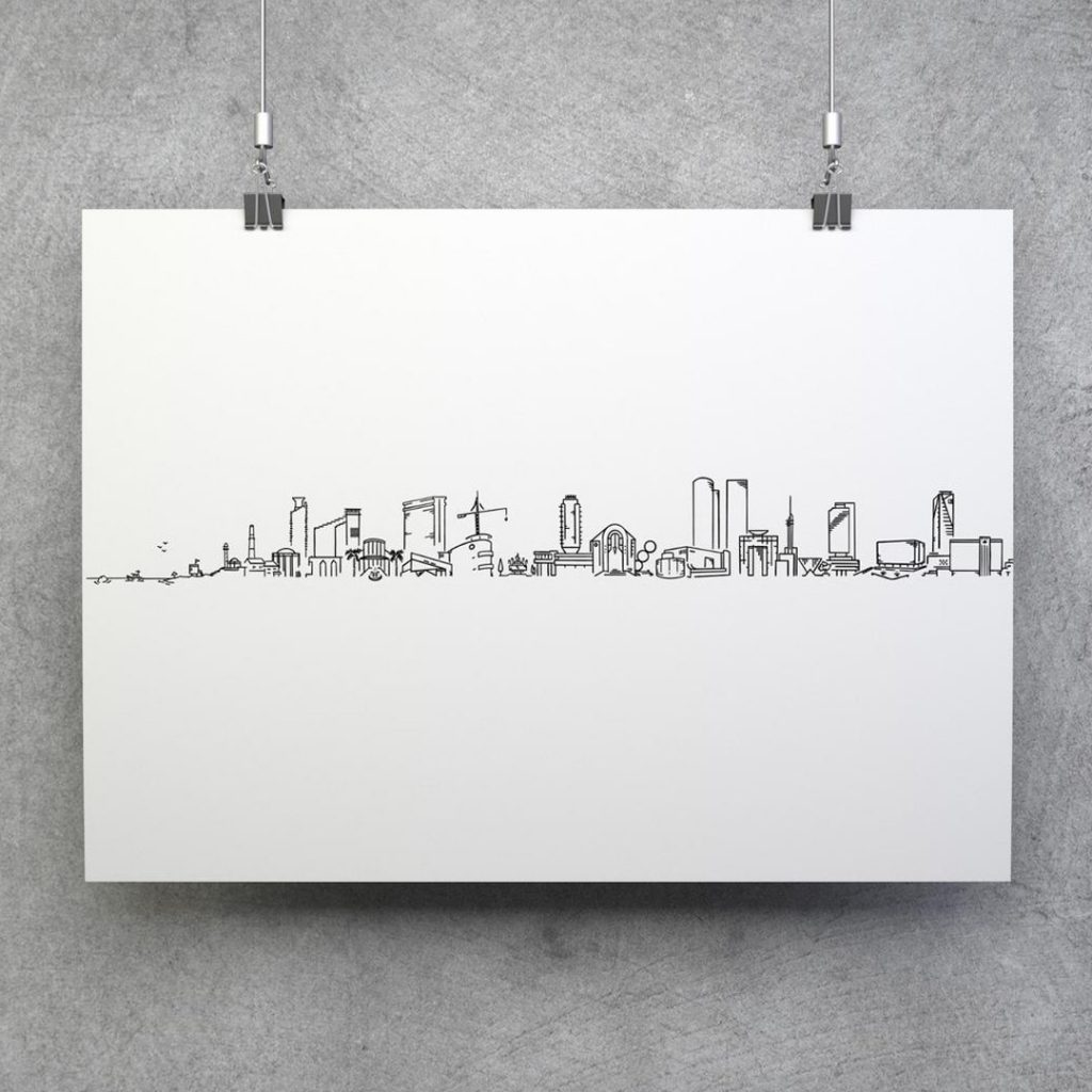 Mekomi tel aviv skyline