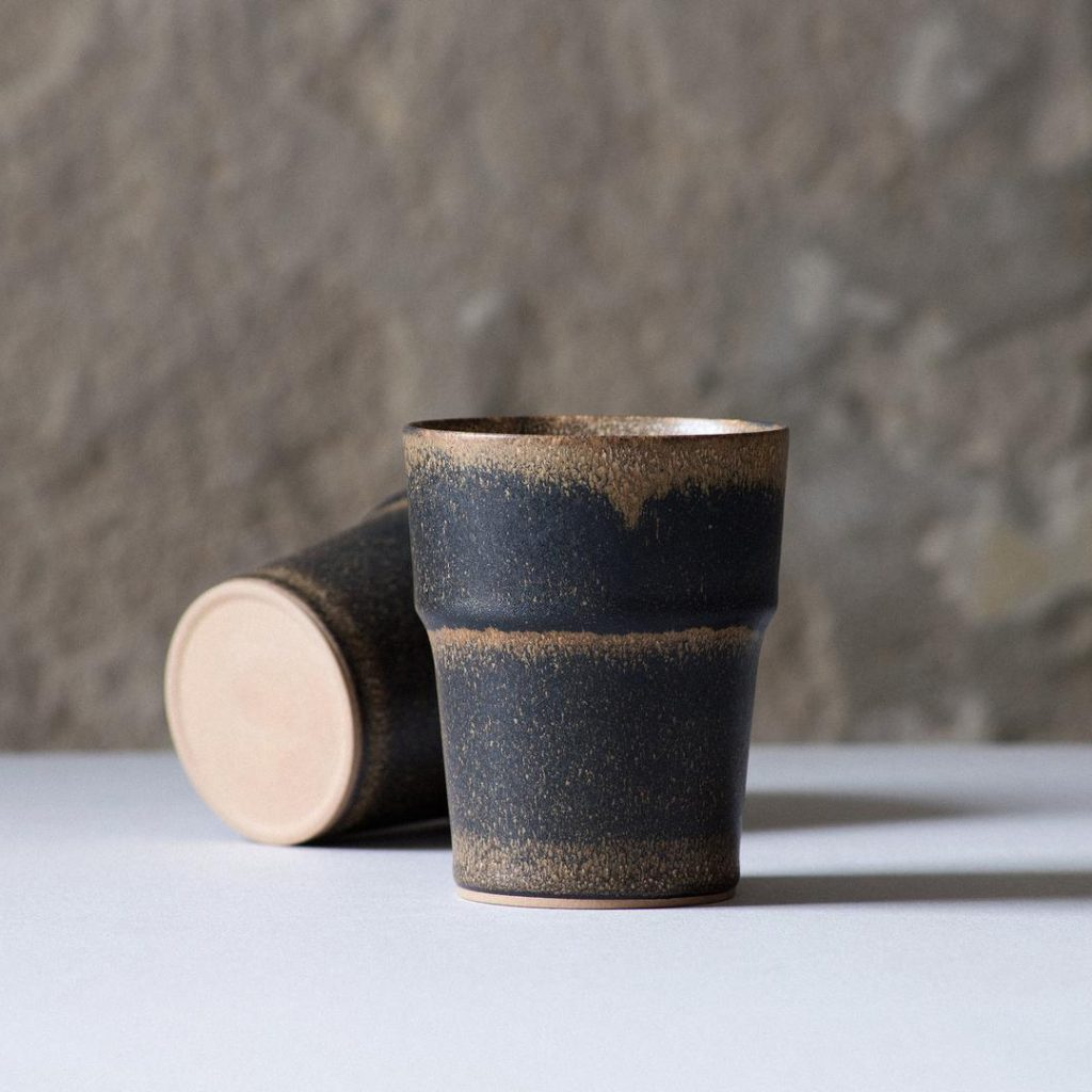 ODAKA toshi. ceramic coffee mug