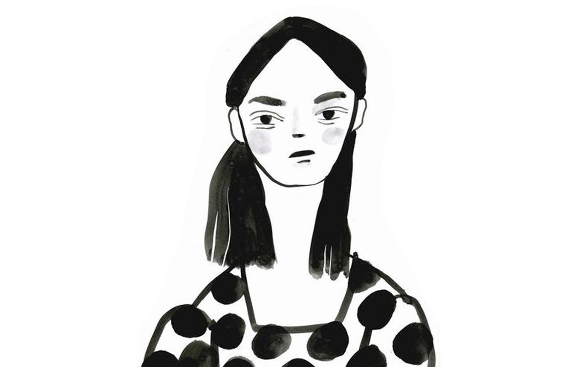 jenny meilihov's black and white ink illustrations. // via: design break blog