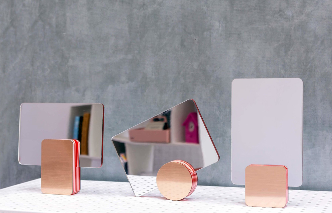marmalade mirrors by studio reish // via: design break blog