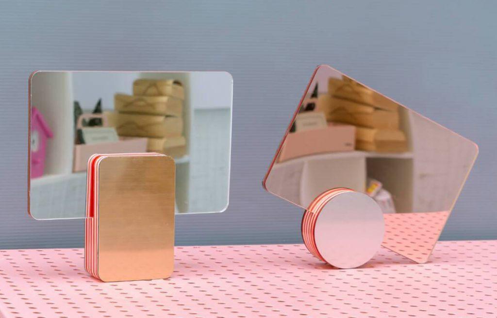 marmalade mirrors by studio reish // via: design break blog