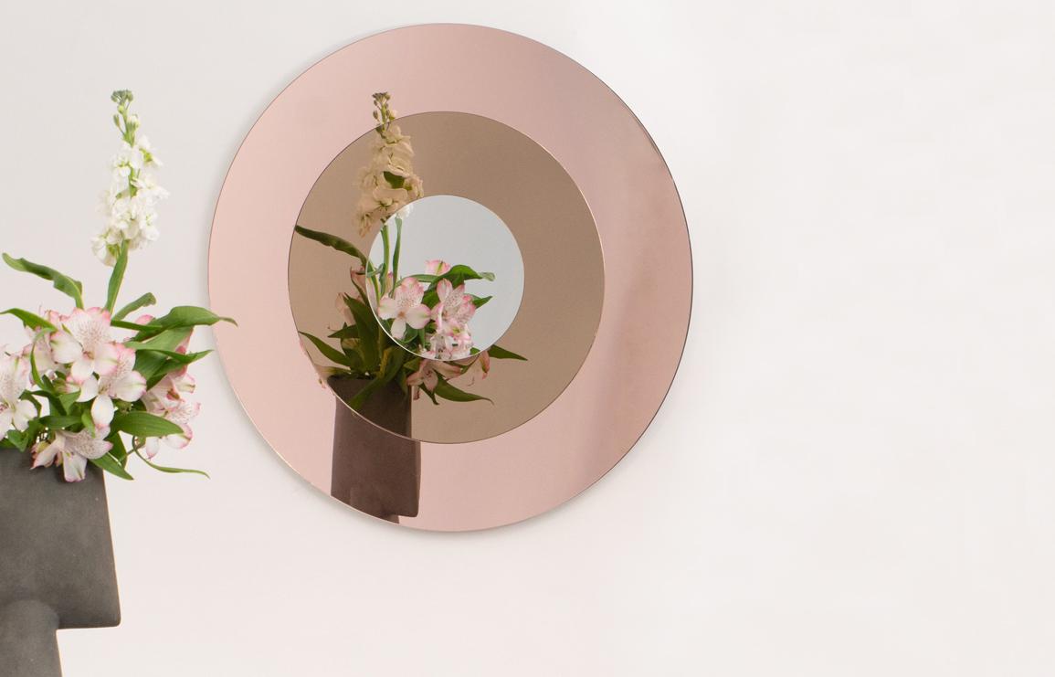 target mirror by studio reish // via: design break blog