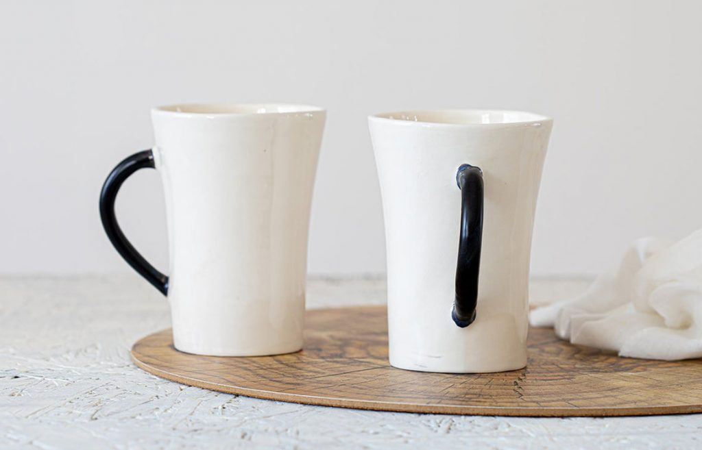 zohar shaham's monochromatic ceramics. // via: design break blog