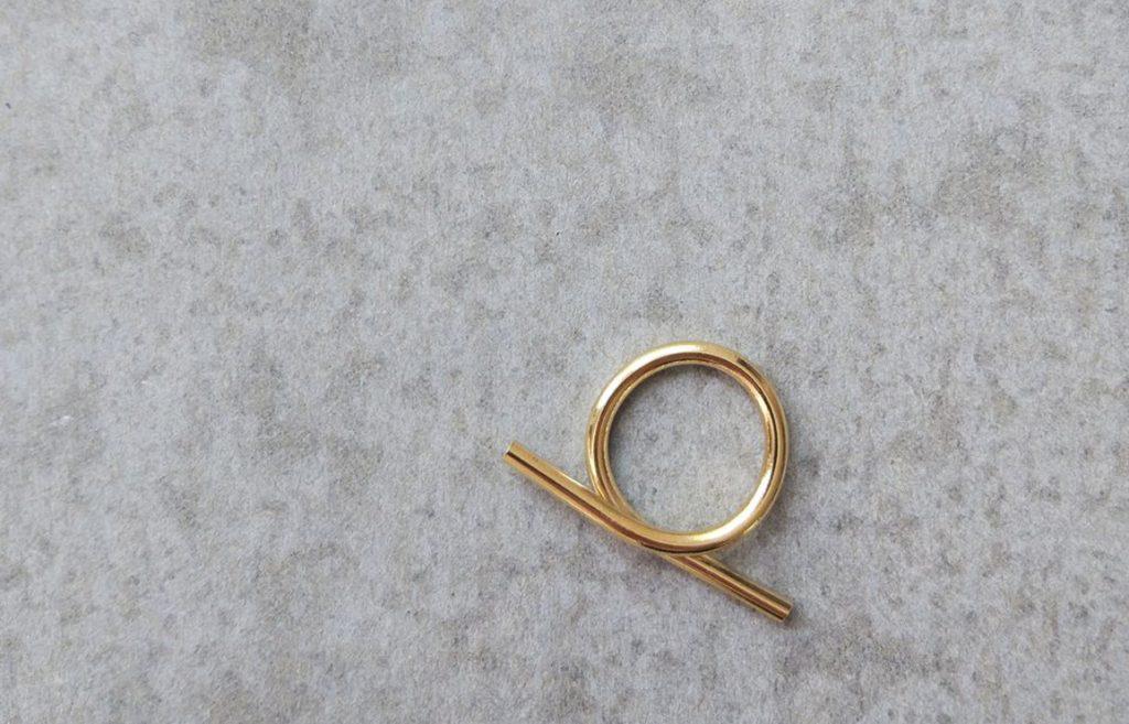 minimaliti. lena tirosh's minimal ring collection. // via: design break blog