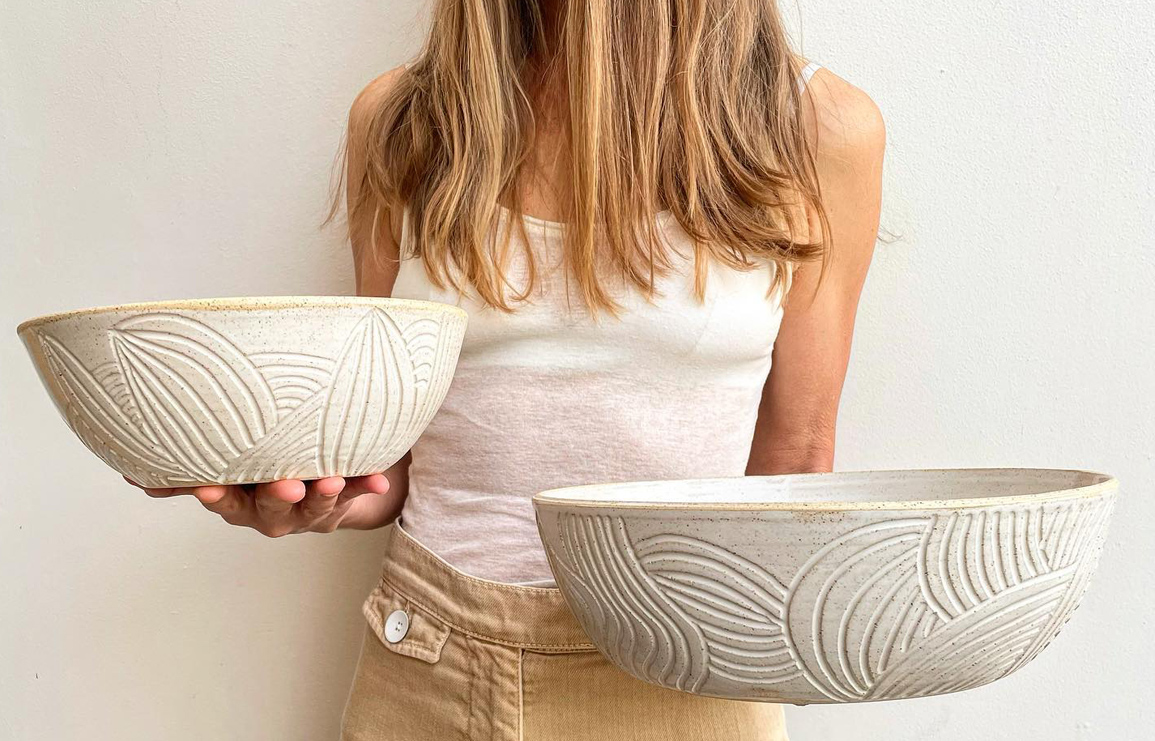 ayn ceramics. fifty shades of mother earth by ceramist, einav price. // via: design break blog